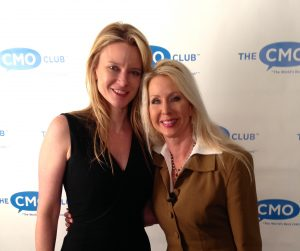 Justine Musk and Tamara McCleary at The CMO Club Fall Summit