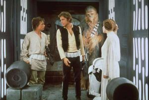 Great stories have hero's who overcome challenges. In Star Wars, Luke, Han and Leia must escape the Death Star and defeat the Empire.