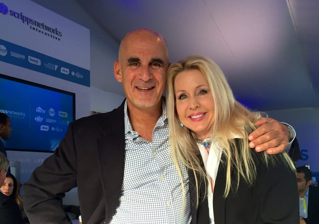 With the extraordinary Ted Rubin at CES 2015.
