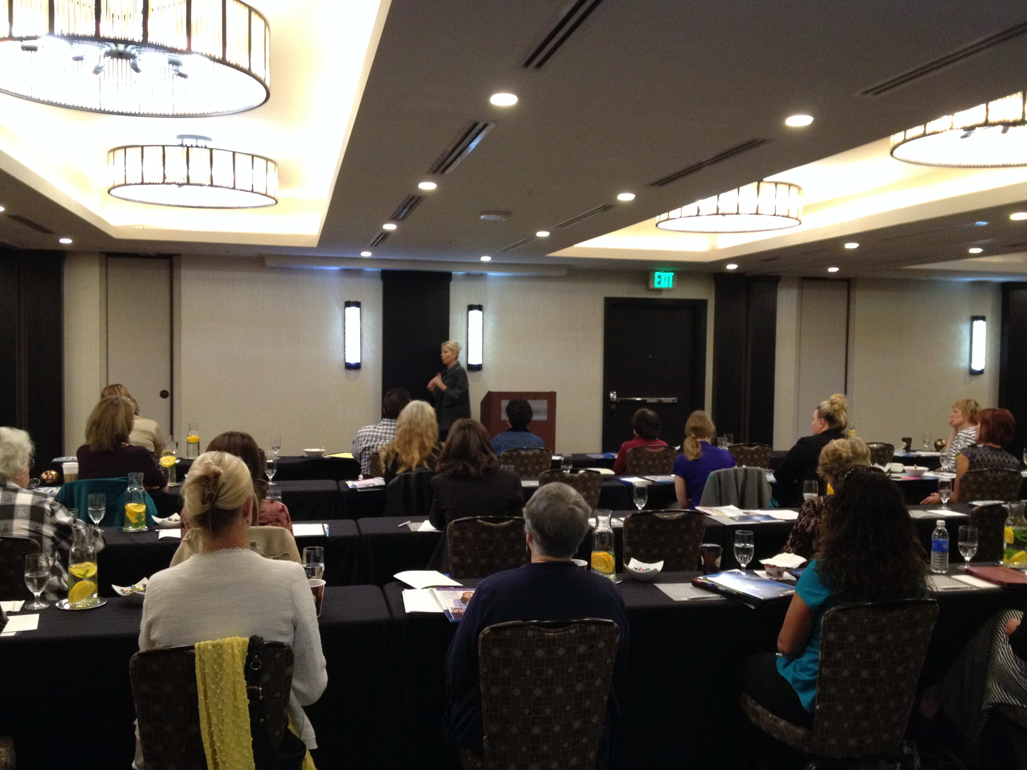 Presenting advanced practice techniques to nurses in Denver in 2015.