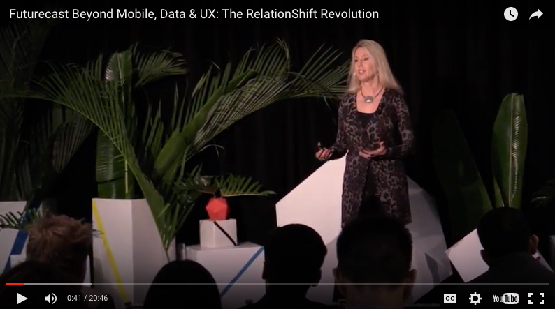 Futurecast Beyond Mobile, Data & UX: The RelationShift Revolution