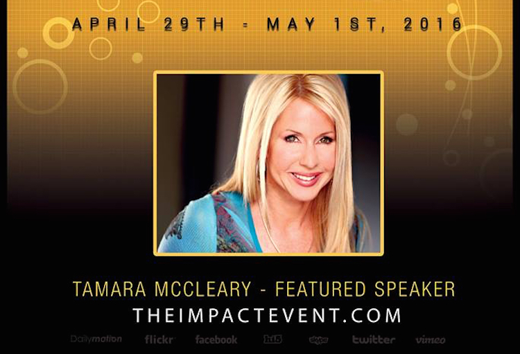 Tamara Announced as a Featured Speaker at Ken McArthur's Impact Event in Denver