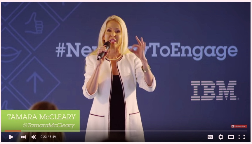 Big Data: Crazy, Sexy or Creepy – Tamara Speaks at IBM Amplify