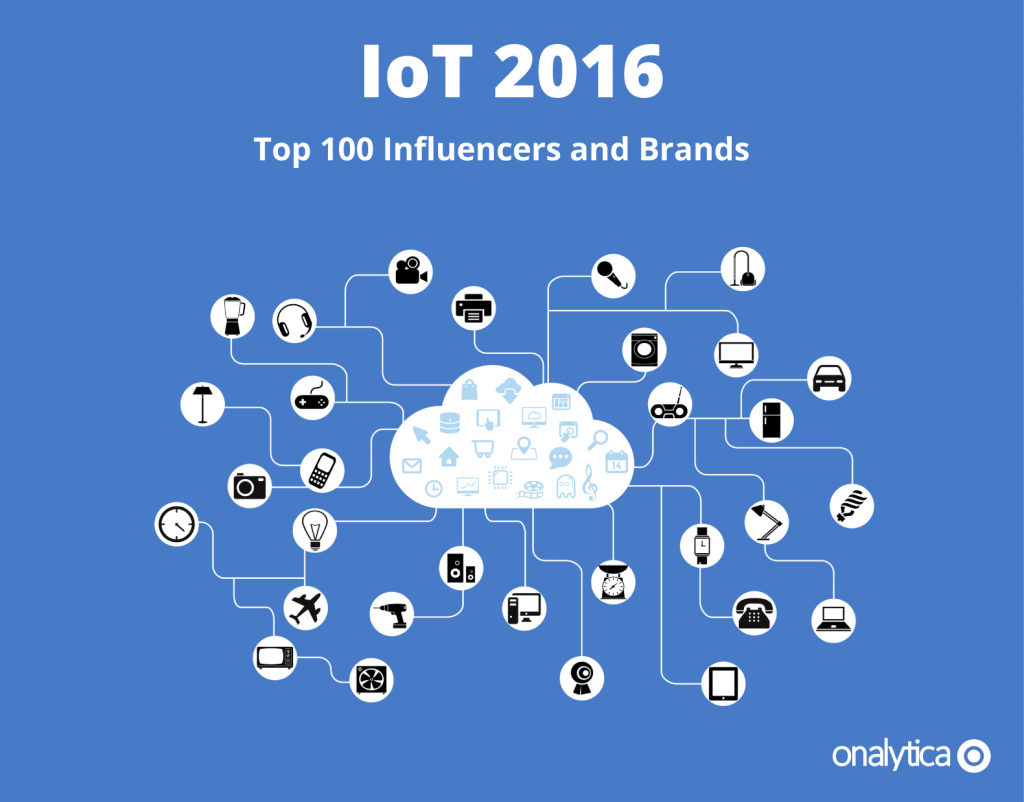 Tamara Recognized as one of the Top 100 IoT Influencers of 2016