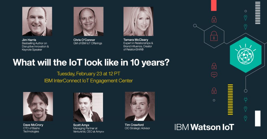 Tamara to Speak on Expert Panel: The Future of the Internet of Things at IBM Interconnect