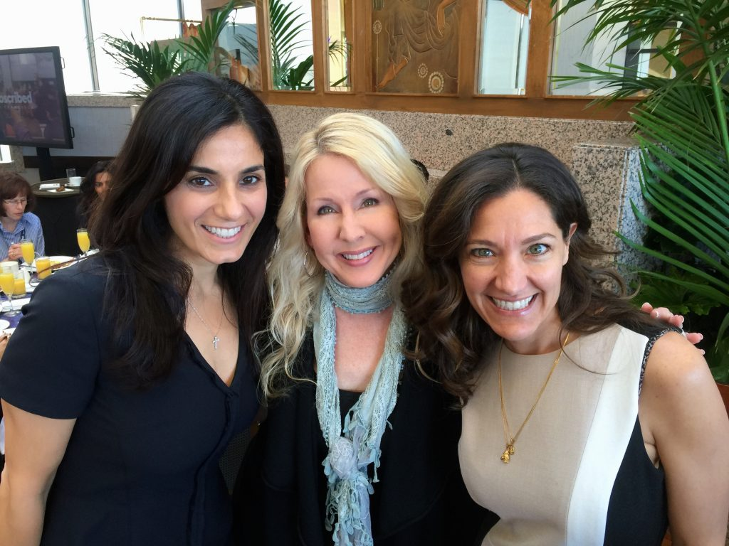 With Alvina Antar, CIO of Zuora (L) and Coco Brown, CEO of The Athena Alliance (R)