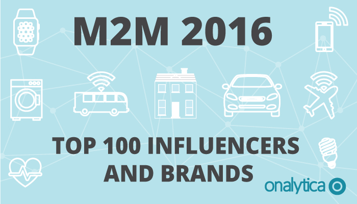 Tamara Named a Top 15 Machine to Machine Influencer (M2M)