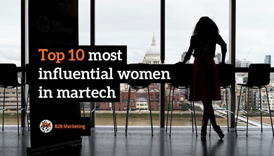Tamara Named #1 Most Influential Woman in Martech by B2B Marketing
