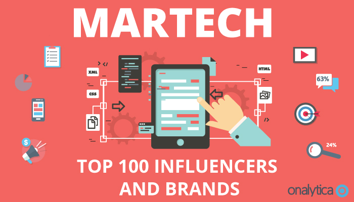 Tamara Named Top 15 Marketing Technology (MarTech) Influencer